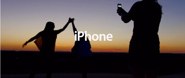 iPhone reklama