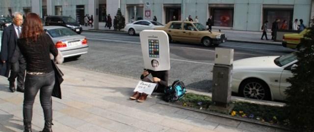 fan Apple w Tokio