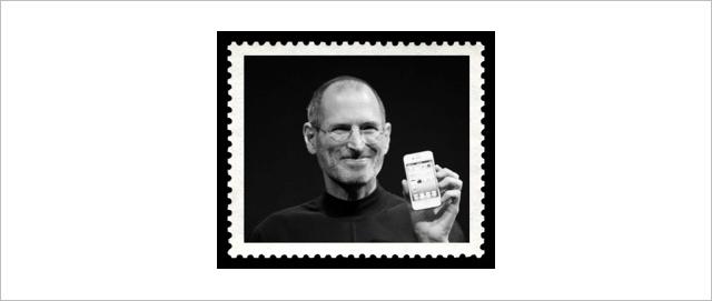 Steve Jobs znaczek