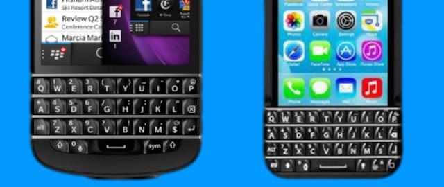 Klawiatura iPhone Typo