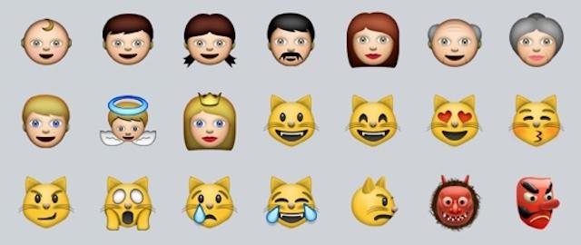 emotikony iOS