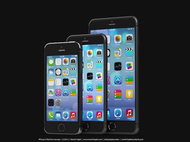 iPhone 6 4,7 cala 5,5 cala koncepcja