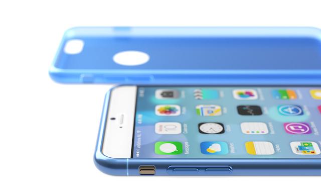 iPhone 6 prostokątne przyciski głośności