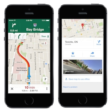 Google_Maps iOS 3.0