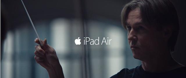 reklama iPad Air