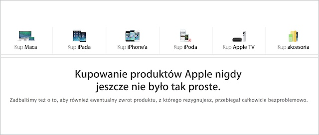 zwroty Apple