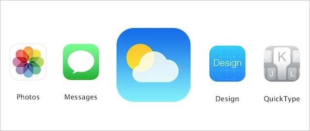 Pogoda iOS 8