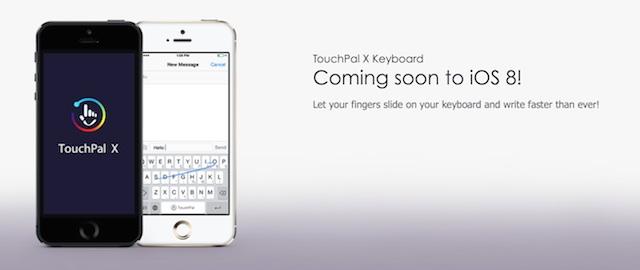 TouchPal klawiatura iOS8