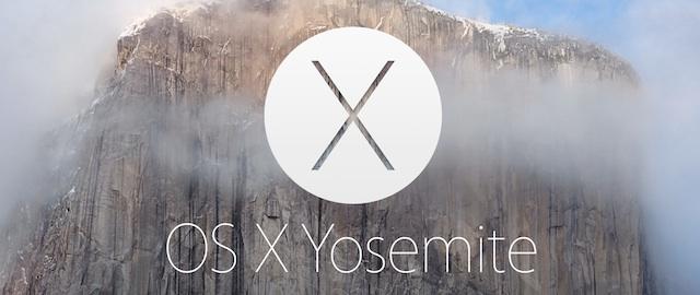 OX X Yosemite