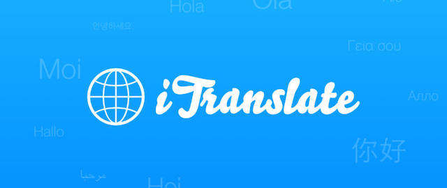 iTranslate na Mac