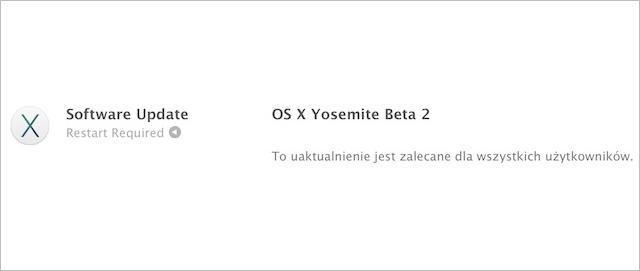 OS X Yosemite Beta 2