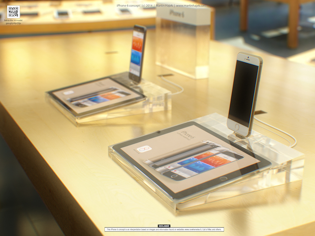 iPhone 6 koncepcja sklep Hajek_3
