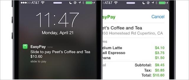 płatności NFC iPhone