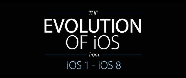 ewolucja iOS