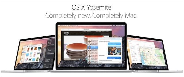 OS X Yosemite-kopia