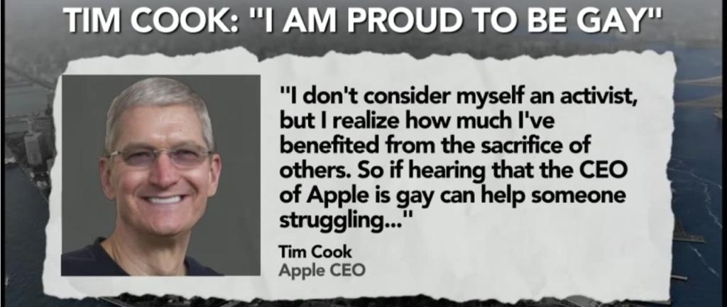 Tim Cook gej
