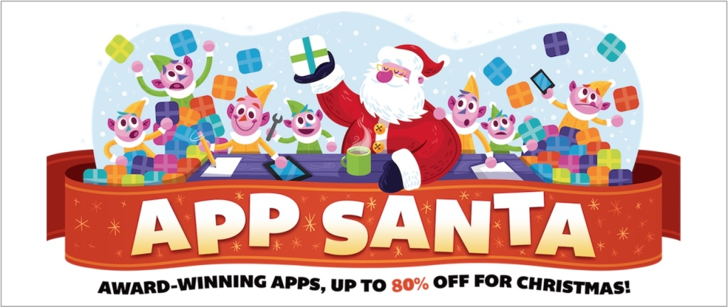 App Santa_aplikacje promocyjne