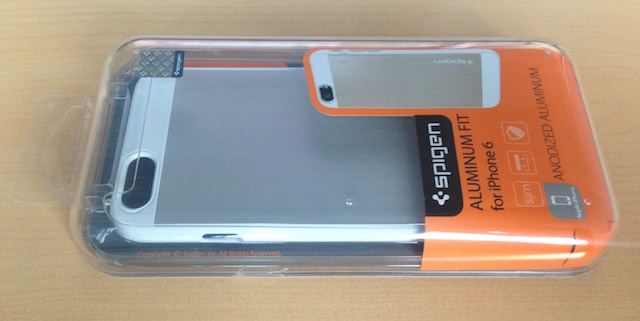 Spigen Aluminium Fit iPhone 6_1