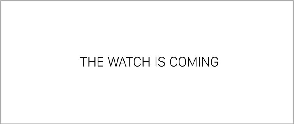 Apple Watch reklama