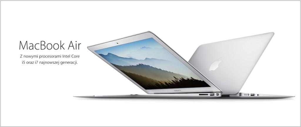 Zaktualizowany macbook air