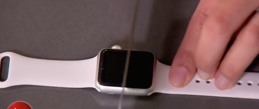 Apple Watch Sport test