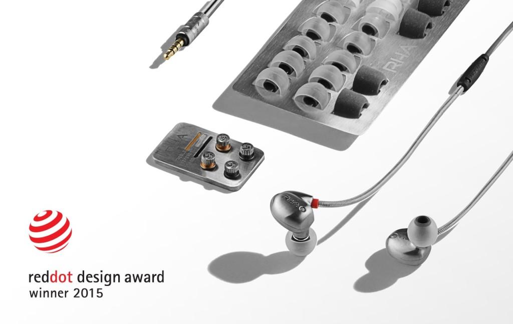 RHA T10i - reddot design award 2015