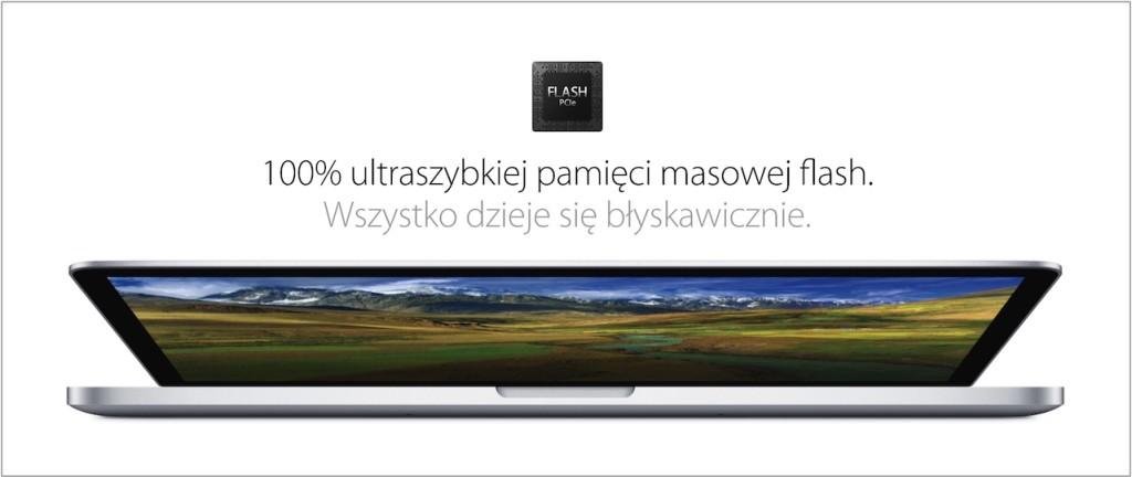 dyski SSD MacBook Pro Retina
