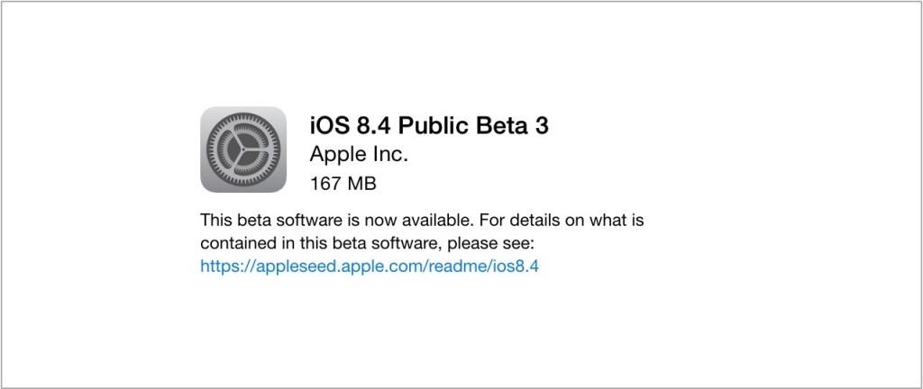iOS 8.4 beta 4