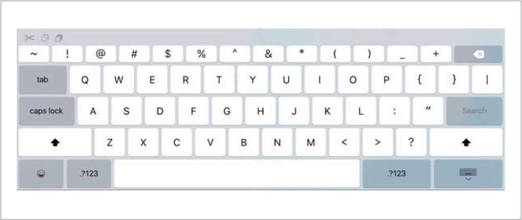 klawiatura iPad iOS 9
