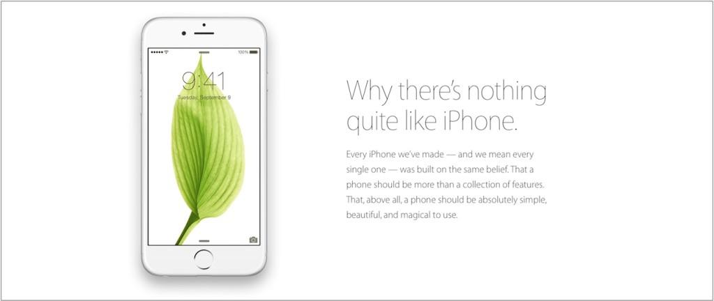 Apple kampania iPhone 6