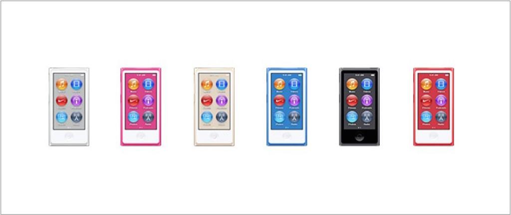 nowe kolory iPoda