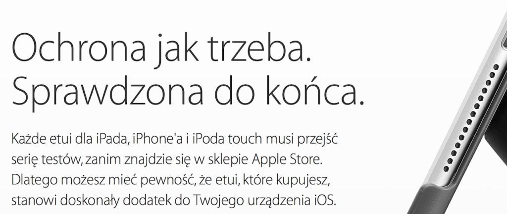 ochrona jak trzeba_akcesoria Apple