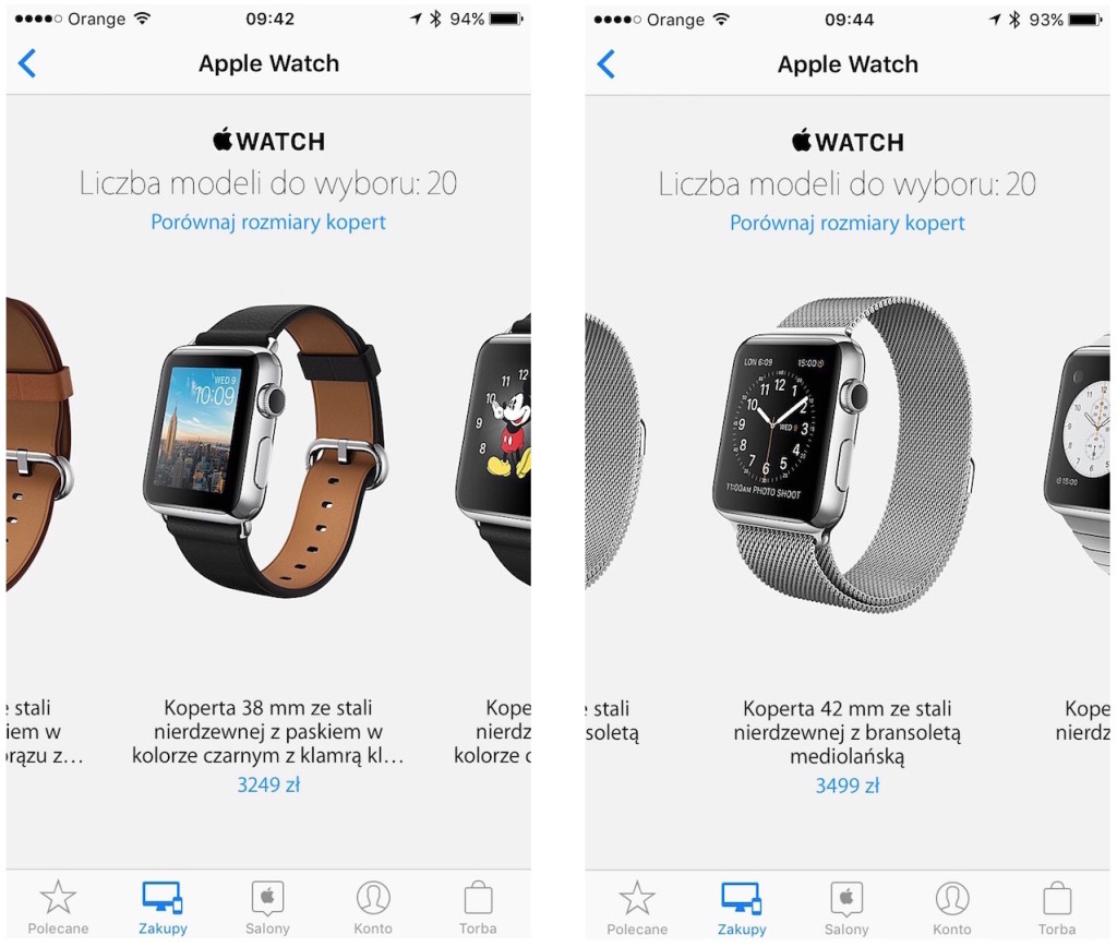 Apple Watch w Polsce