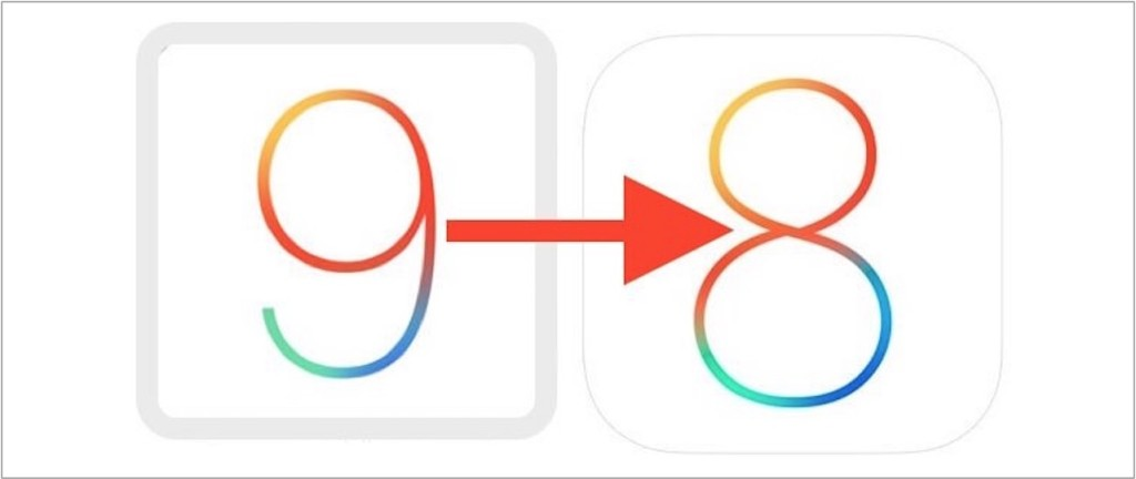 Downgrade z iOS 9 na iOS 8