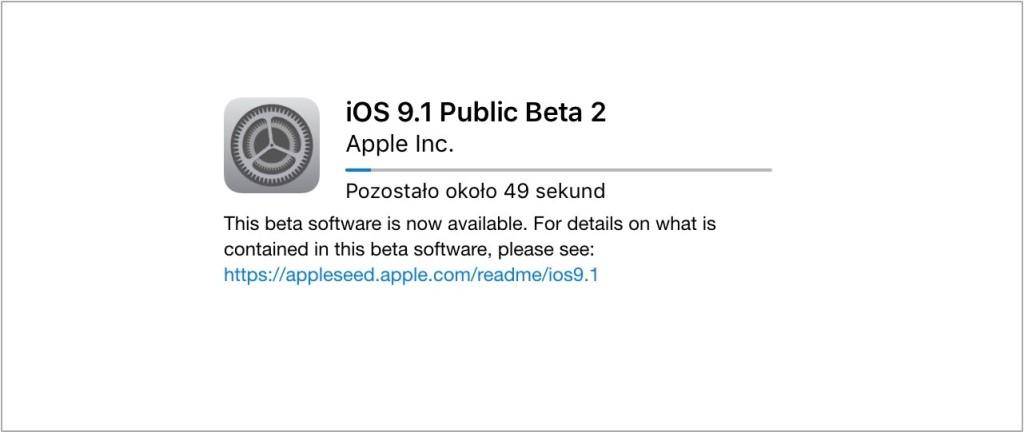 iOS 9.1 beta 2
