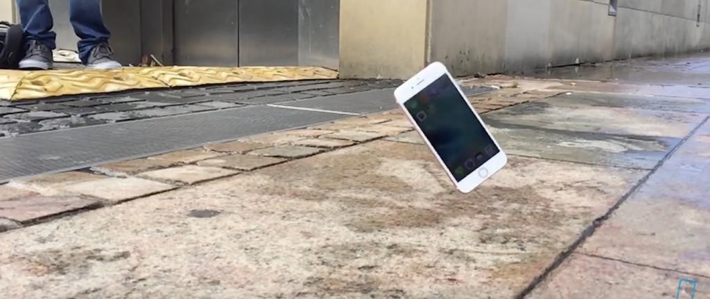test upadku iPhone 6S