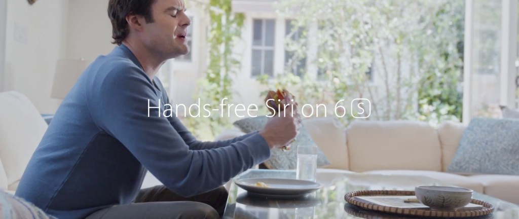 Hands free Siri iPhone 6S