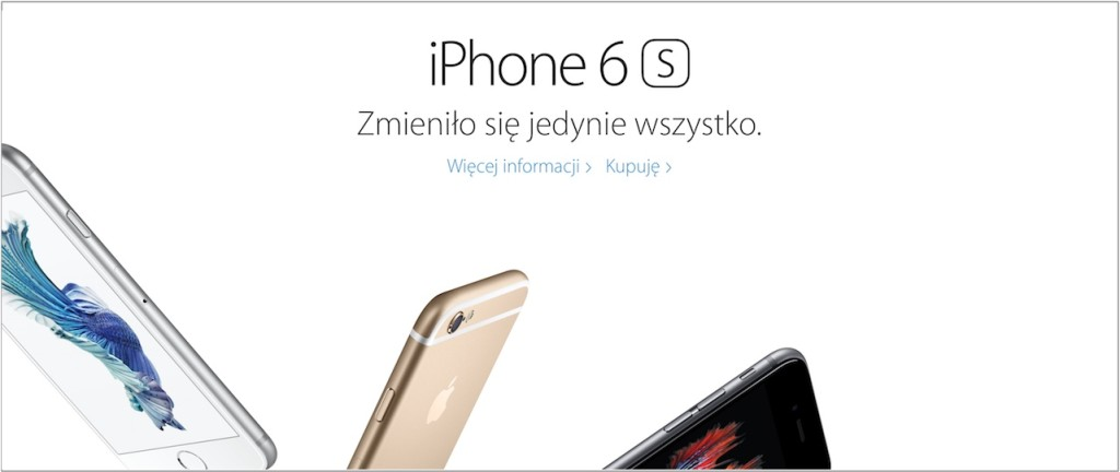 iPhone 6S w Polsce