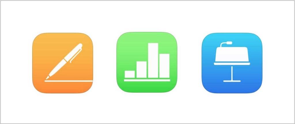 iWork dla iOS aplikacje