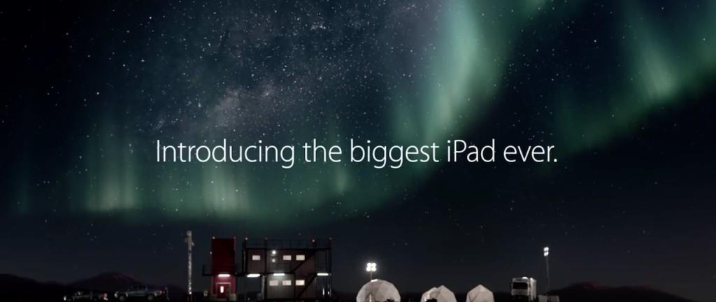 reklama iPad Pro