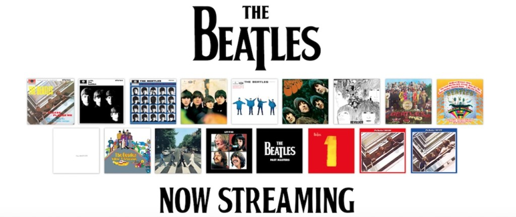 Beatles w Apple Music