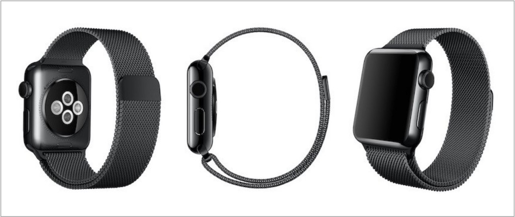 space-black-milanese-loop-band