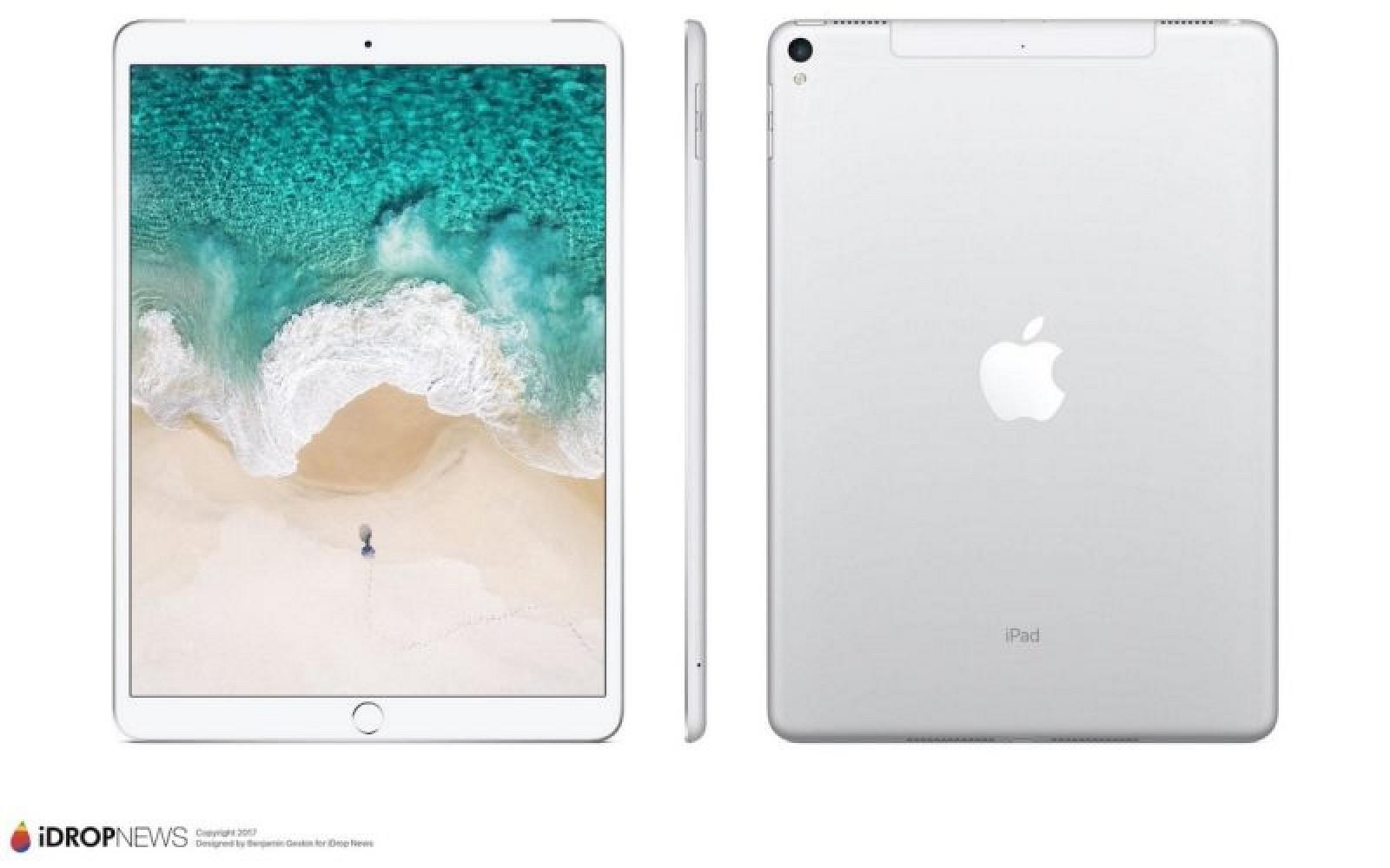 Rendering 10,5-calowego iPada