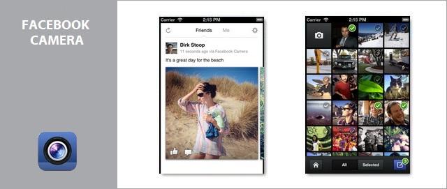Facebook wypuszcza aplikacj facebook camera dla iphone 39 a for Facebook camera