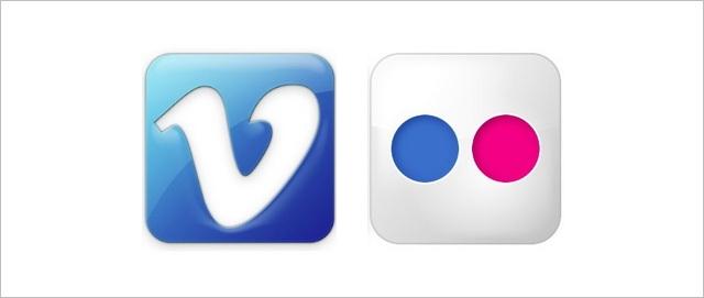 Vimeo-Flickr-iOS-7