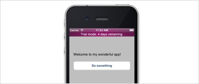 iOS App Trial