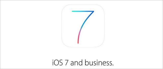 iOS 7 business