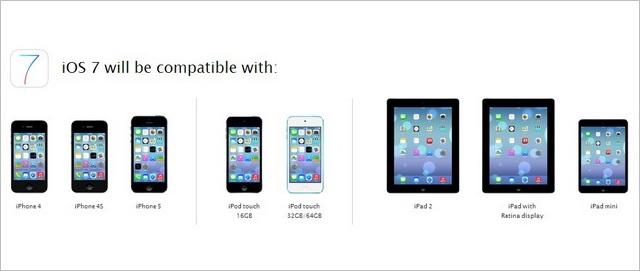 iOS 7 compatibile