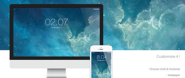 iOS 7 Screensaver wygaszacz ekranu