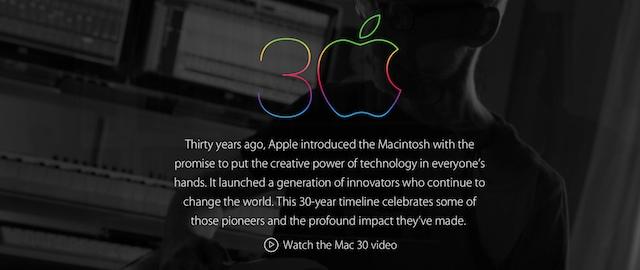30 lat Mac